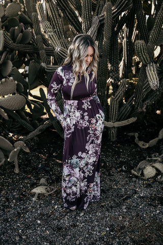 Darling Love Floral Maxi