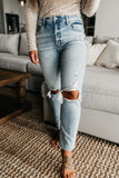 Tobi High Rise Jeans Light Wash