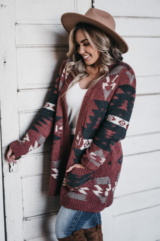 Midnight Tropics Cardigan