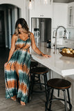 Tropical Mango Backless Maxi