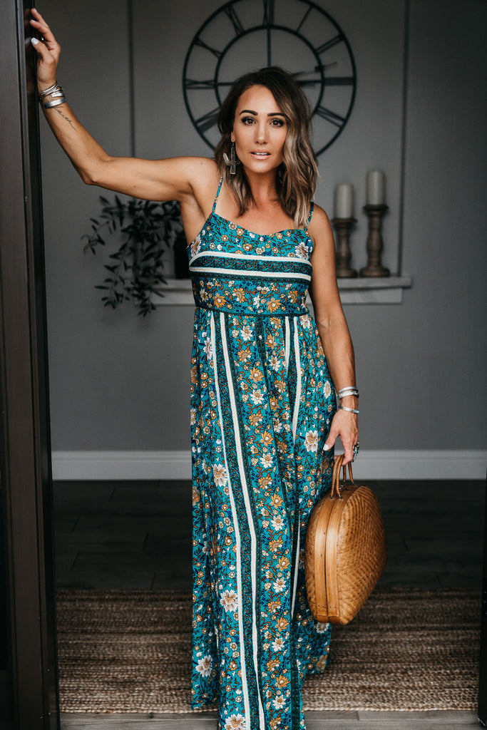 Rosie Maxi Dress Green