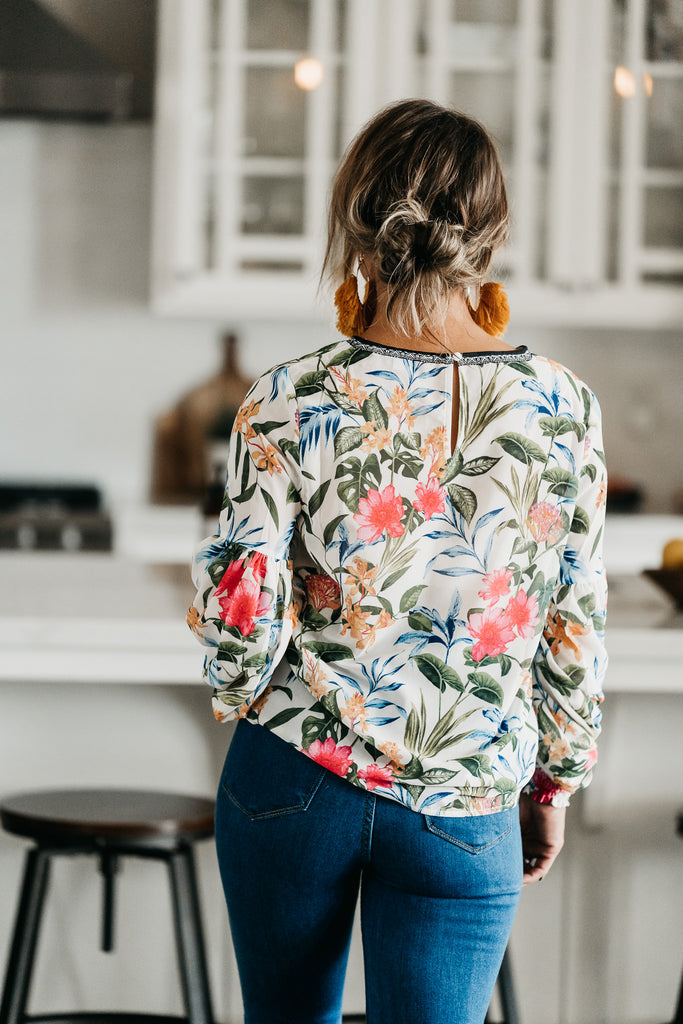 Wildflowers Blouse