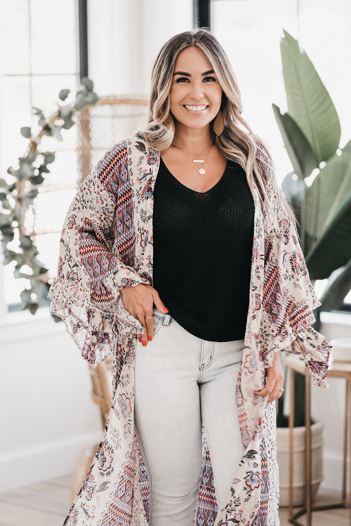 Into The Night Cardigan