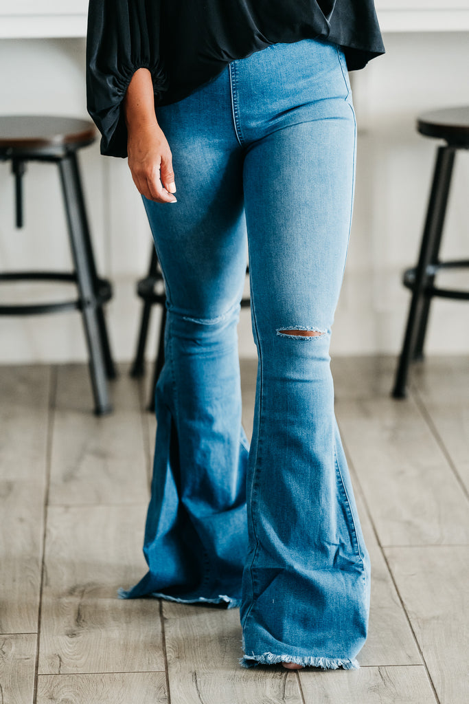 Always In Style Flares Blue
