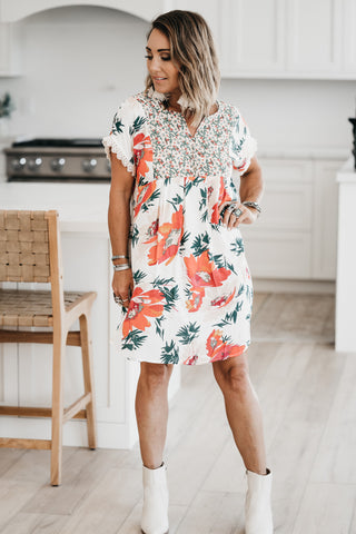 Country Days Floral Dress