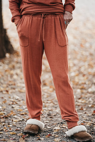 Yes Please Velour Joggers