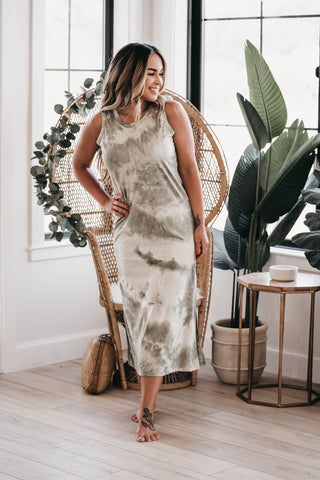 Make Your Mark Dress Ivory