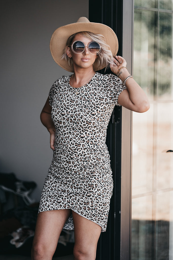 That's a Wrap Dress Leopard