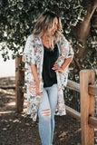 Caught In The Sun Kimono Blue