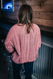 Summertime Feelings Sweater Rose