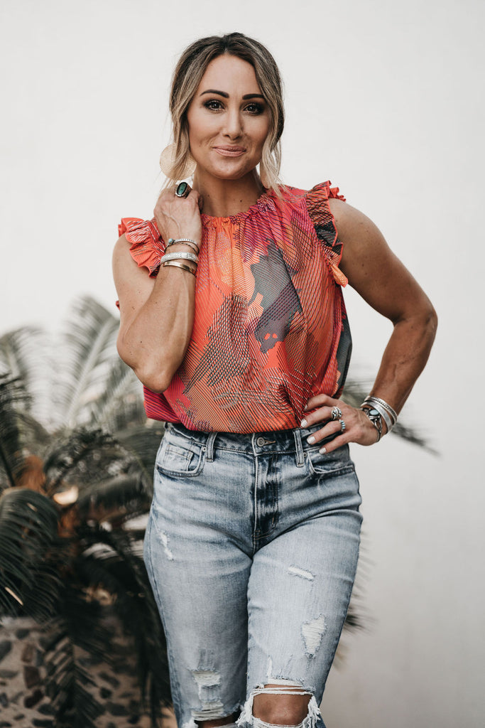Paint The Town Blouse