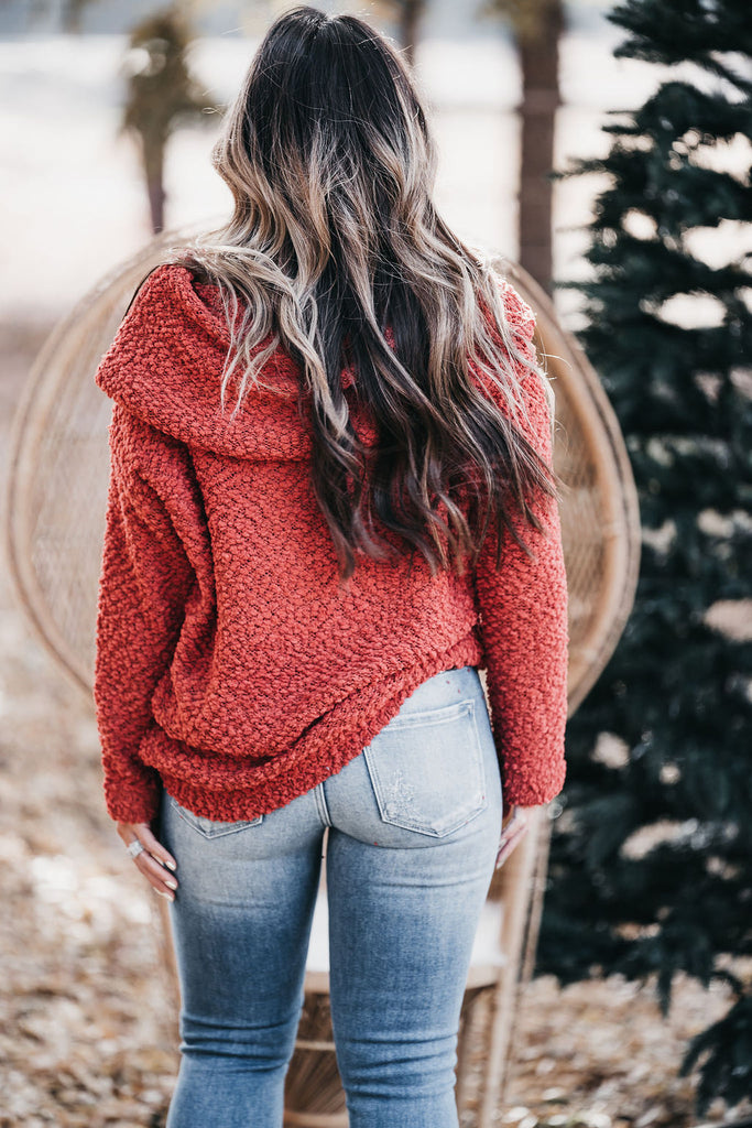 Addison Sweater Rust