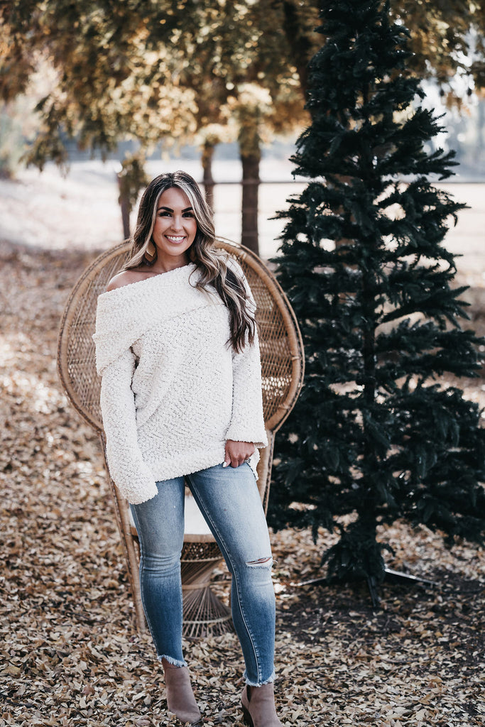 Addison Sweater Ivory