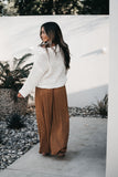 A Little Bit Of Boho Pants Camel