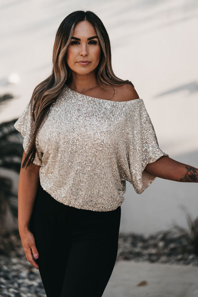 Sparkle + Shine Sequin Top
