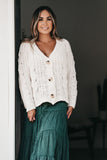 So Square Cardigan Ivory