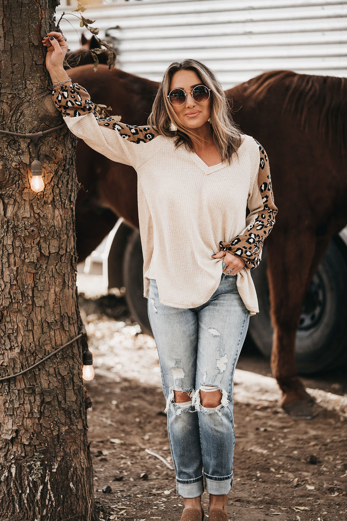 It's a Vibe Leopard Long Sleeve