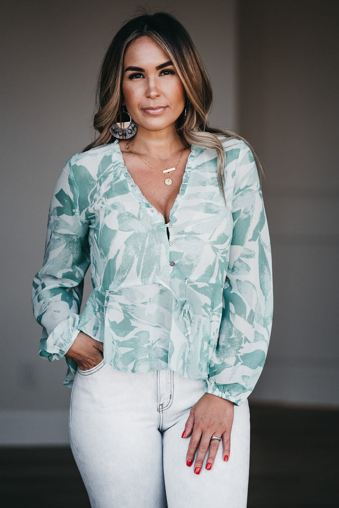 Take Me To The Beach Blouse