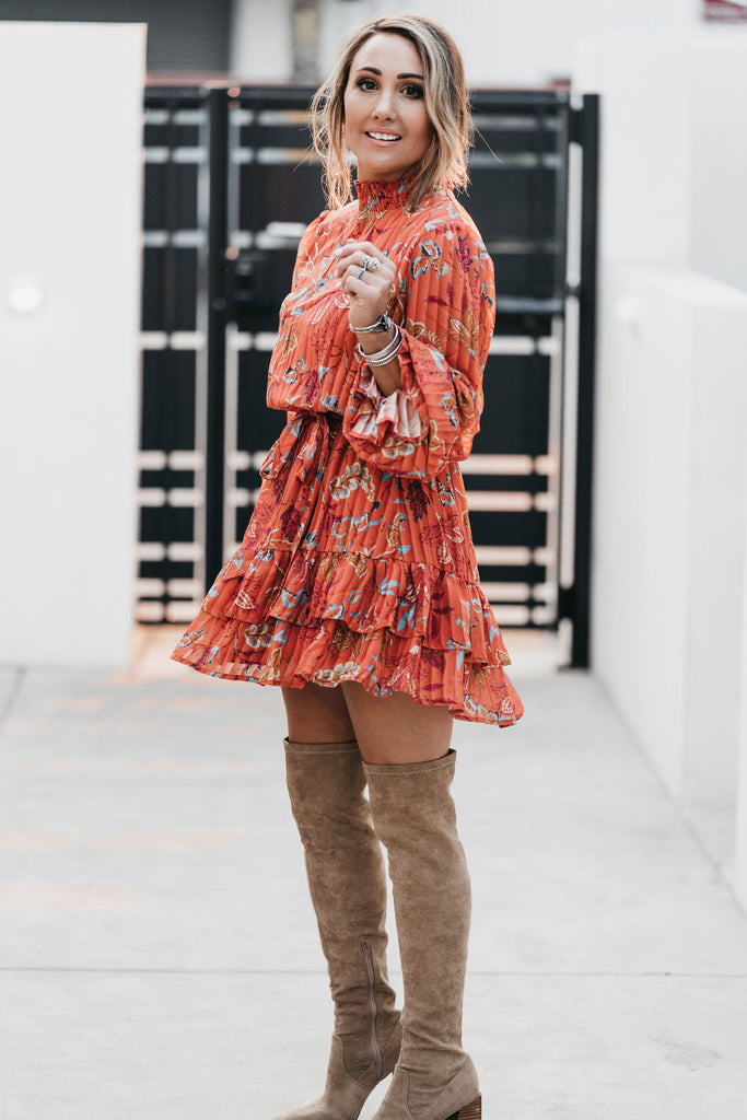 All The Fall Leaves Dress