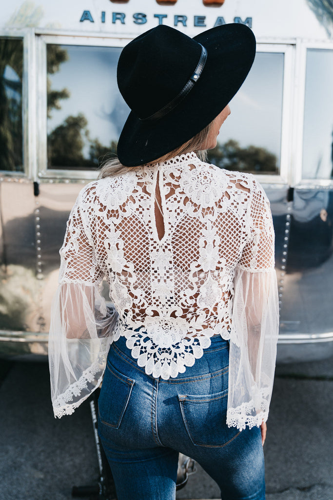 Goddess Bell Sleeve Top