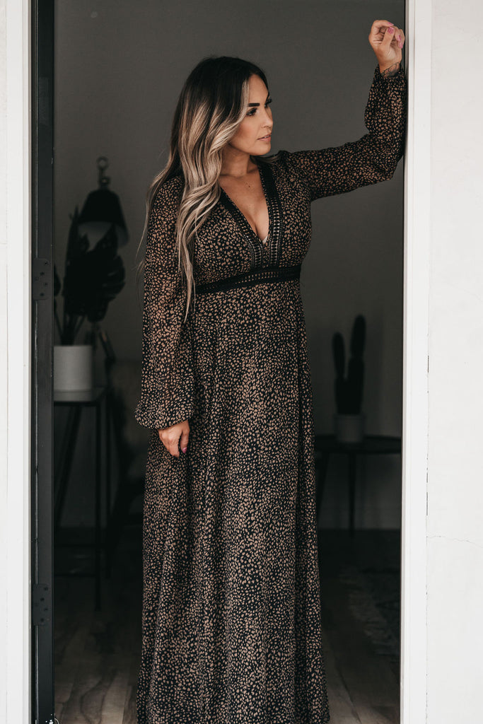 Come To Me Maxi Dress