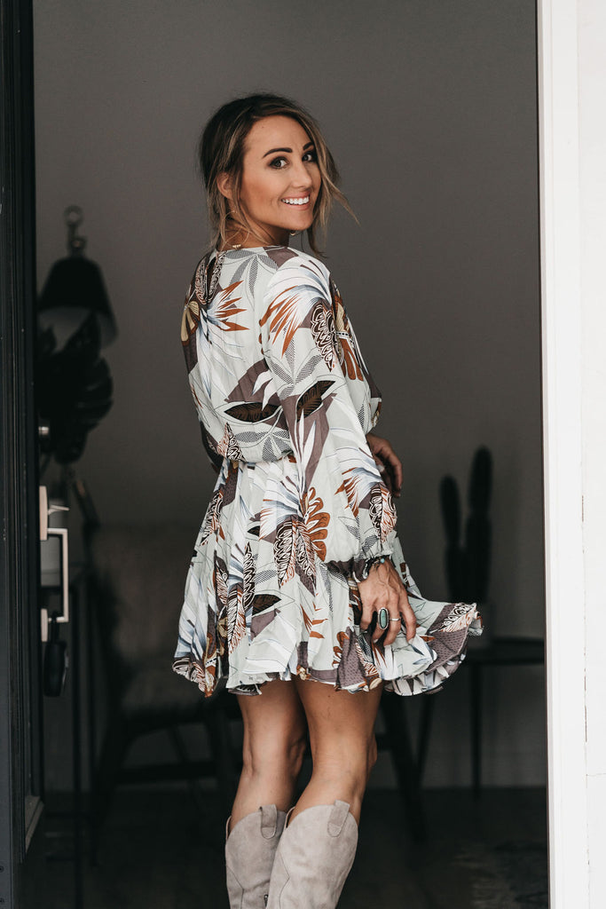 Better Days Printed Dress