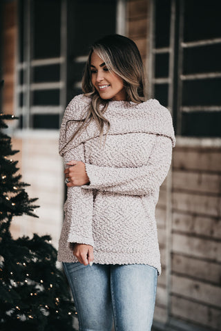 Get Over It Sweater Ivory