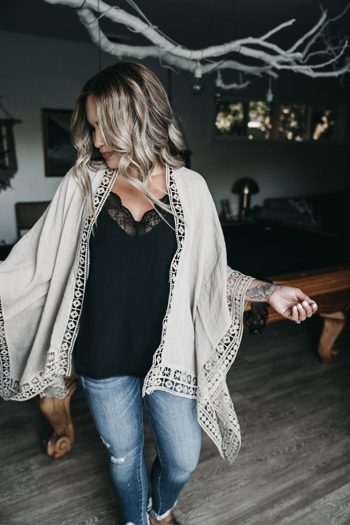 Love You A Latte Cardigan