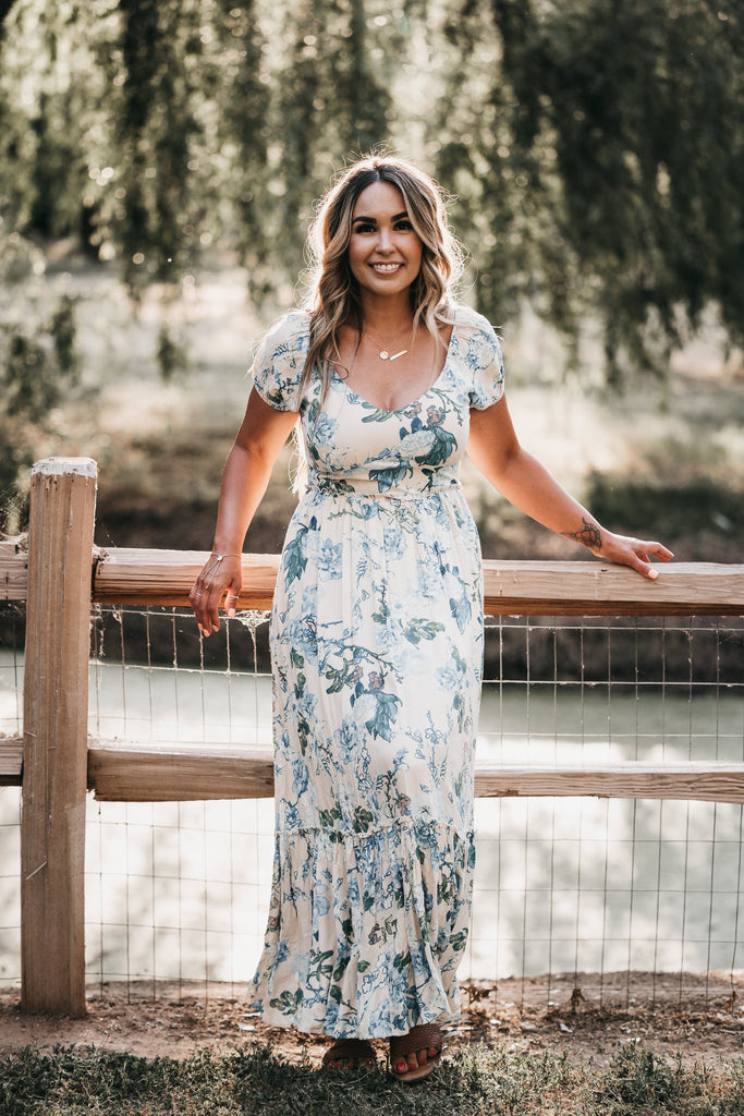 Careless Floral Maxi Dress