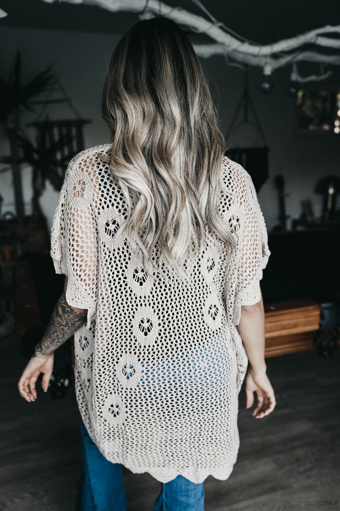 Maxed Out Crochet Cardigan