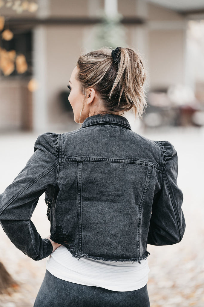 Faded Days Denim Jacket