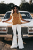 Always In Style Flares White