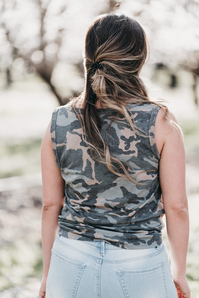 Can't See Me Camo Tank