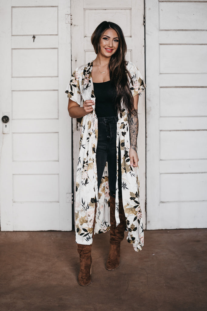 The Bloom Floral Cardigan