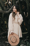 Jennifer Dress Beige