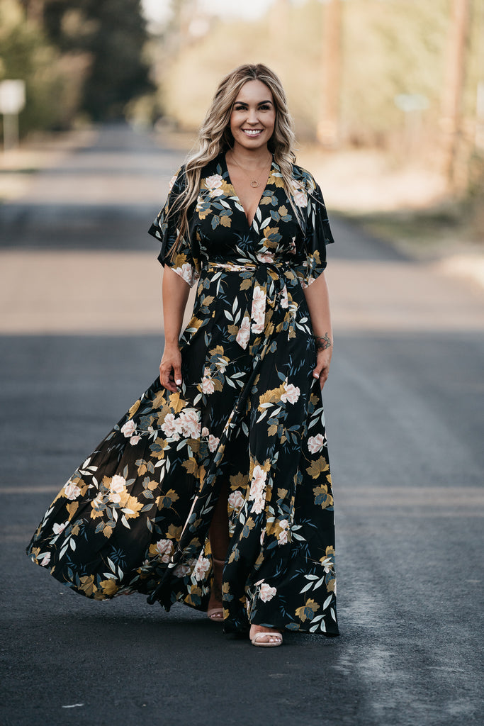 Falling In Love Floral Maxi