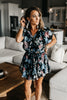 Stella Black Floral Dress
