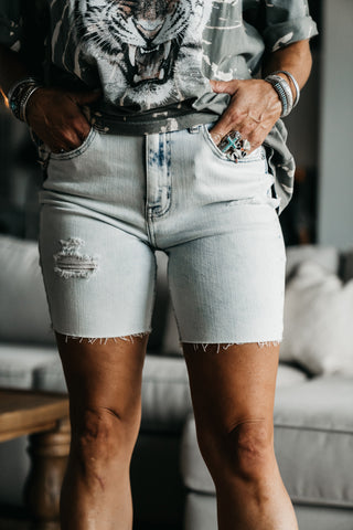Monica Printed Shorts