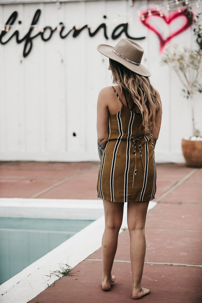 Baja Stripes Dress