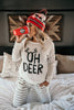 Oh Deer Long Sleeve Top
