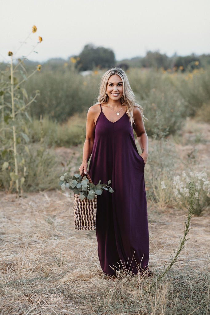 Back To Basics Maxi Plum