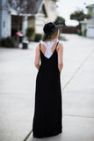 Love Stitch Black Cocoon Maxi
