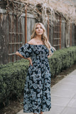 Nothing but Love Floral Midi