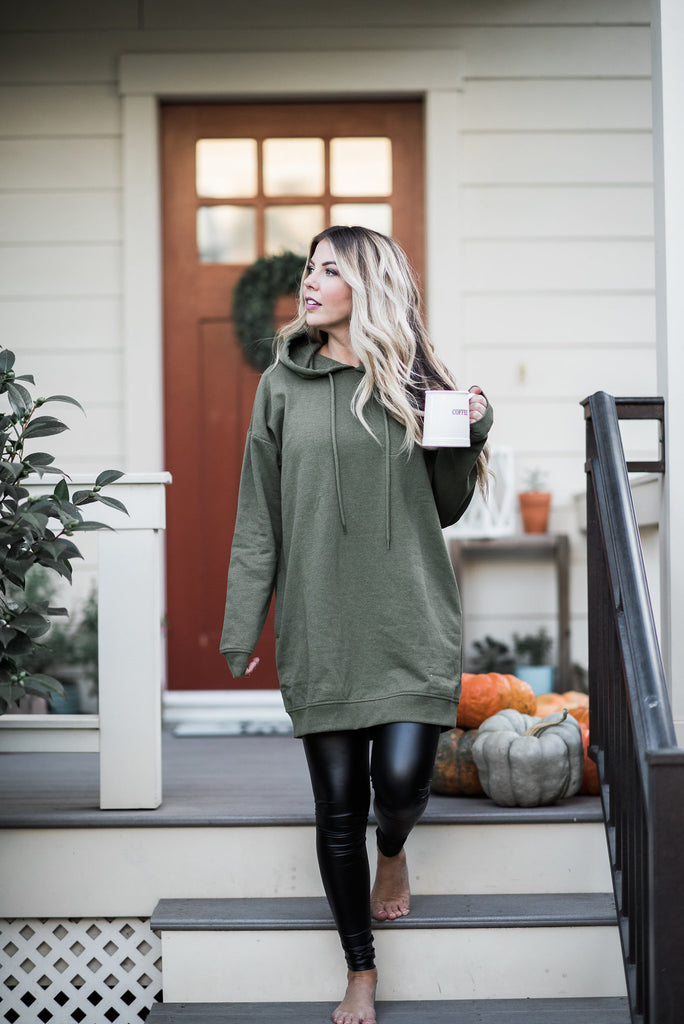 Go Green Olive Tunic