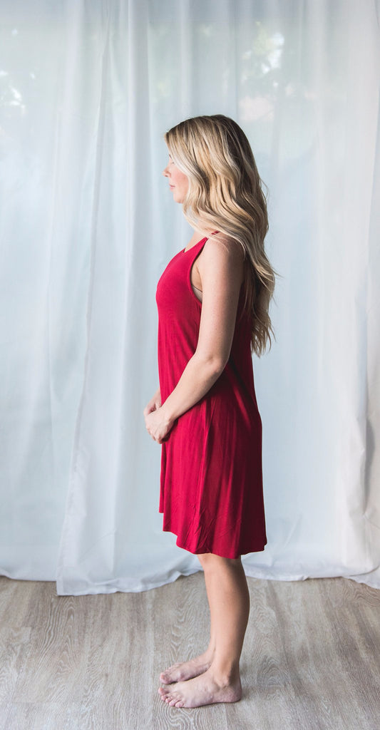 Short Red Dress