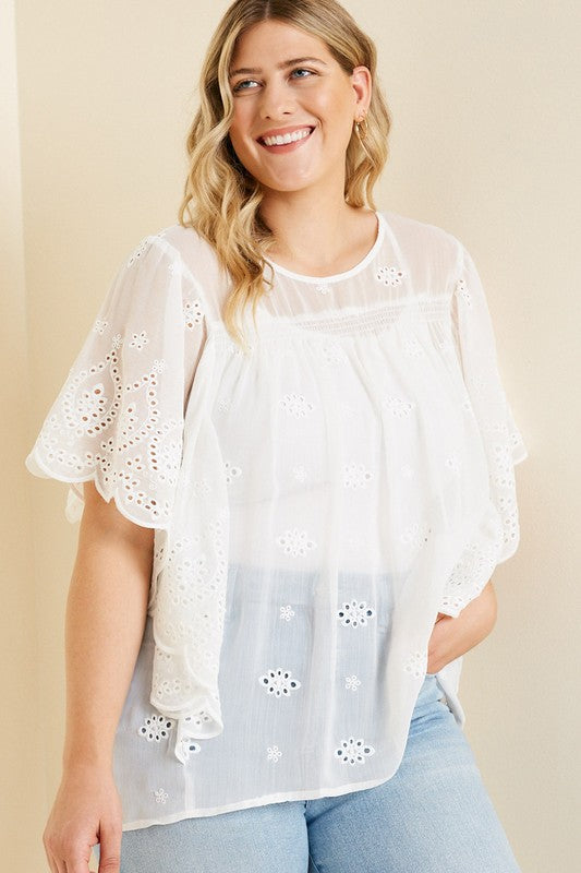 Build You Up Blouse