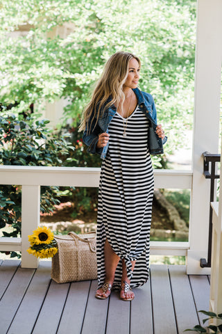 Suitable Stripe Maxi
