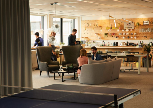 Work environment / offices of AllBlazing in The Hague