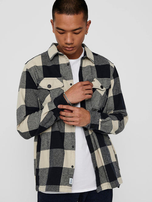 Only & Sons Josh - Ternet overshirt (4818709708879)