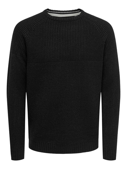 Only & Sons Kelvin - Pullover strik (4818706923599)
